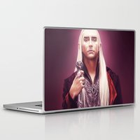 thranduil Laptop & iPad Skins featuring Thranduil by tillieke