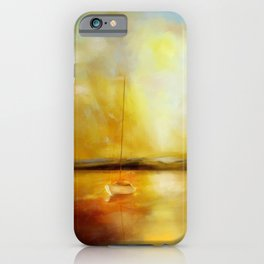 Anchored for the night iPhone Case