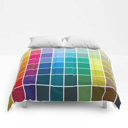 Colorful Soul - All colors together Comforters
