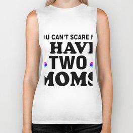 you cant sacre  mom Biker Tank