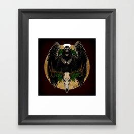 The Spirit of Creepmas Framed Art Print