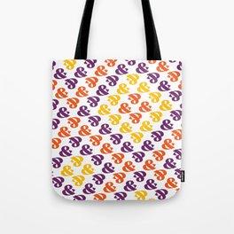 Ampersand Pattern 01: Fresh Color Tote Bag