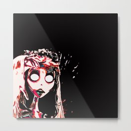 Astonished Metal Print