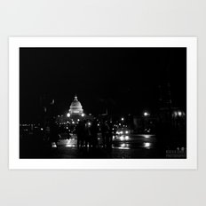 Capitol Hill Art Print