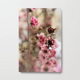 Filler Flowers Metal Print