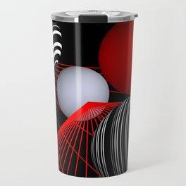 converging lines -1- Travel Mug
