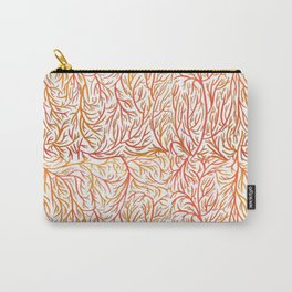 Autumn color lines Carry-All Pouch