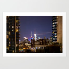 New York City Landscape Art Print