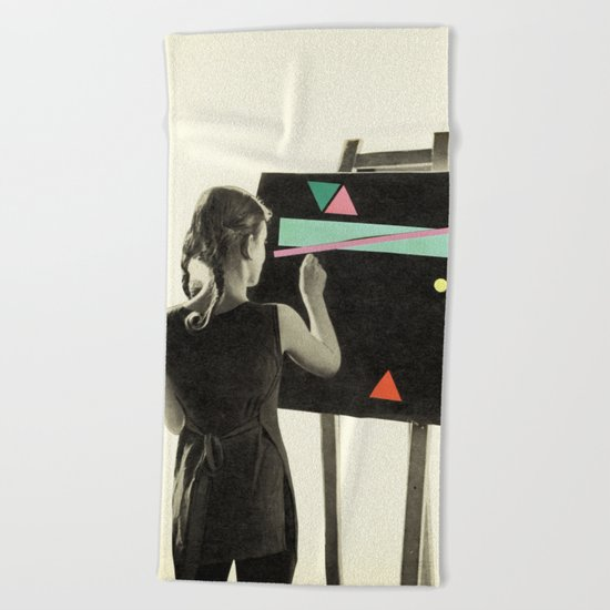I'll Show You Things You've Never Seen Beach Towel