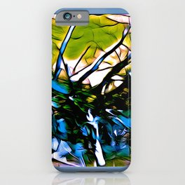 Jumbled Trees iPhone Case