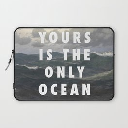 Ocean Approaching Laptop Sleeve