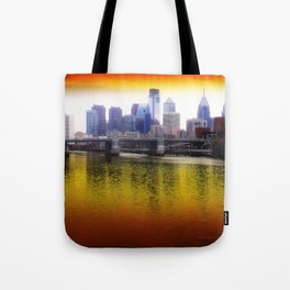Philly Reflects Tote Bag