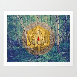 Moon: 1.261.164.960ft Art Print