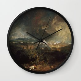 The Fifth Plague of Egypt J. M. W. Turner Wall Clock