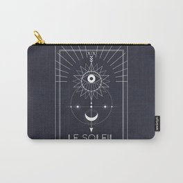 Le Soleil or The Sun Tarot Carry-All Pouch
