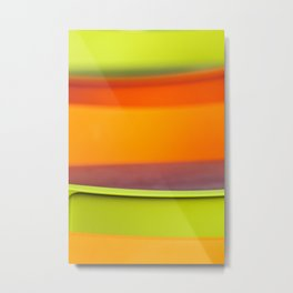 Chair Colors Metal Print