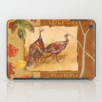 turkey iPad Cases featuring Wild Turkey by Edith Jackson-Designs