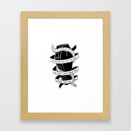 Stories For The Worms Framed Art Print