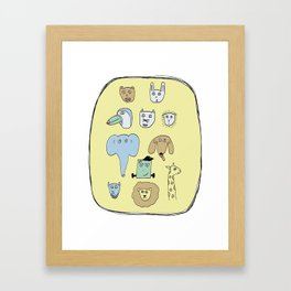 Picture Day Framed Art Print