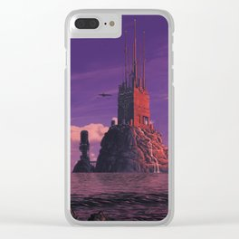 Offshore Data Haven Clear iPhone Case