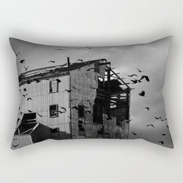 Ghosts Of Industry Rectangular Pillow