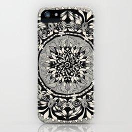Mandala Hypnos iPhone Case
