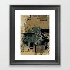 misprint 58 Framed Art Print