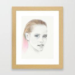 Pretty women Framed Art Print