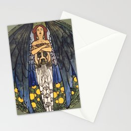 "Koloman (Kolo) Moser ""The art"" Stationery Cards"