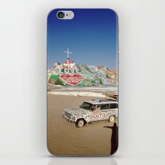 Salvation Mountain iPhone & iPod Skin