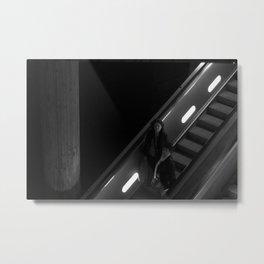 To The Subway Metal Print