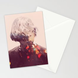 Showers (Double Exposure) Stationery Cards