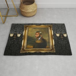 Mr. T - replaceface Rug