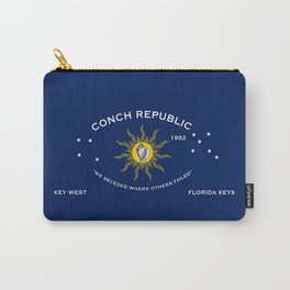 Conch Republic Flag Carry-All Pouch