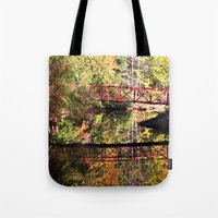 mirror Tote Bags featuring Mirror by Forgotten Beauty