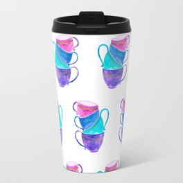 Stacked teacups Travel Mug