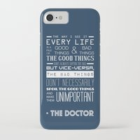 doctor who iPhone & iPod Cases featuring Doctor Who by Sarah Jane Rozman