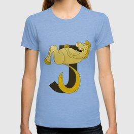 Pony Monogram Letter J T-shirt