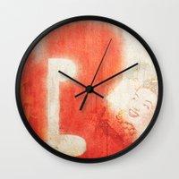 brasil Wall Clocks featuring Brasil by Fernando Vieira