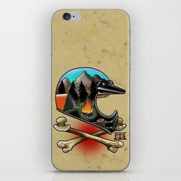 moto camper case iPhone Skin
