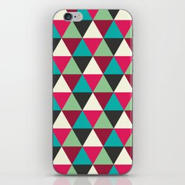 Southwestern Tribal Triangle Pattern iPhone Skin