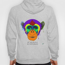 Be yourself, be different - chimpanzee Hoody