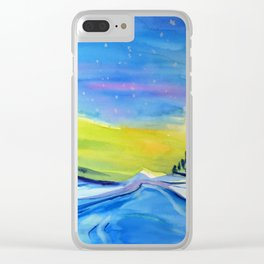 Solar Flare #3 Clear iPhone Case