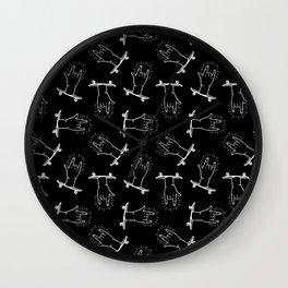 Rock'n Rolla - Black Wall Clock