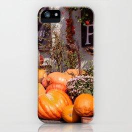 The pumpkin iPhone Case