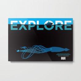 EXPLORE 2 Metal Print