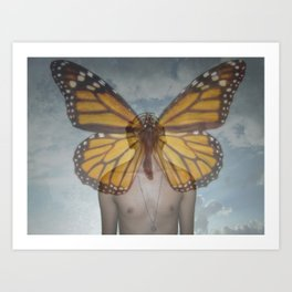 The Metamorphosis - La Metamorfosis Art Print
