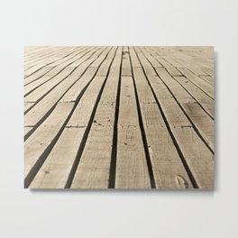 wood path Metal Print