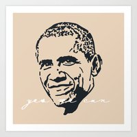 Yes We Can IV Art Print