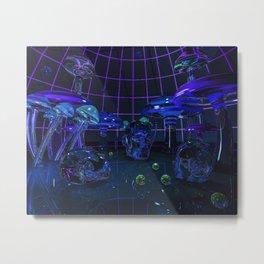 Fungal Fantasy Metal Print